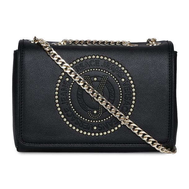 3a8b4693cfc Versace Jeans Bags, Black Sling Bag for Women at Thecollective.in