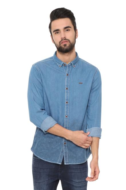 4cd7504435 People Blue Shirt