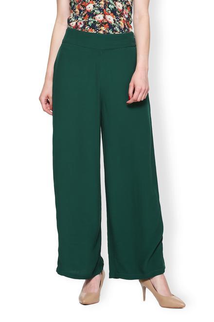 5e7286cf9e5c0d Van Heusen Woman Trousers & Leggings, Van Heusen Green Pants for ...
