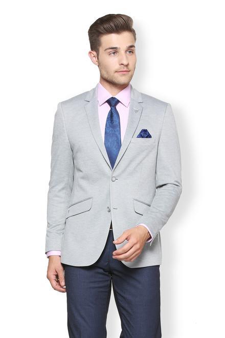 4feb24118a281 Van Heusen Suits & Blazers, Van Heusen Grey Blazer for Men at  Vanheusenindia.com