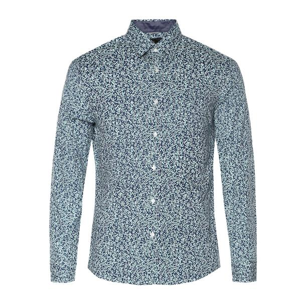a5aa327a80 Michael Kors Casual Shirts, White Leaf Print Shirt for Men at  Thecollective.in