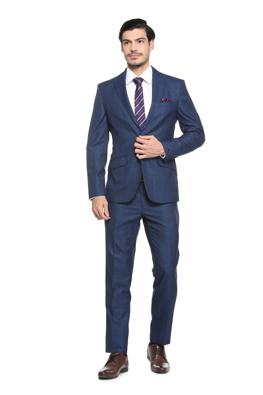9d5bfea3ad2c7f Peter England Elite Suits & Blazers, Peter England Blue Two Piece Suit for  Men at Peterengland.com