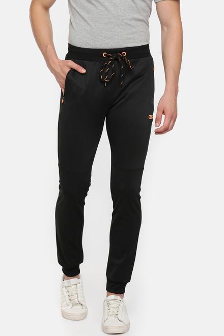 b99d8bfb Ajile Active Wear, Pantaloons Black Jogger Pants for Men at ...