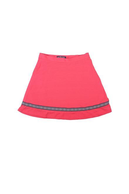 9ca96aa07 Allen Solly Junior Skirts & Skorts, Allen Solly Red Skirt for Girls at  Allensolly.com