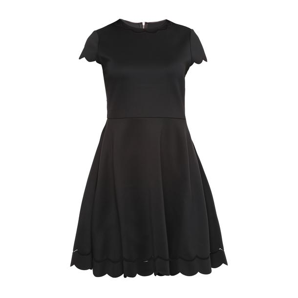 628f38ab149e Ted Baker Dresses, Navy Scallop Edge Dress for Women at Thecollective.in