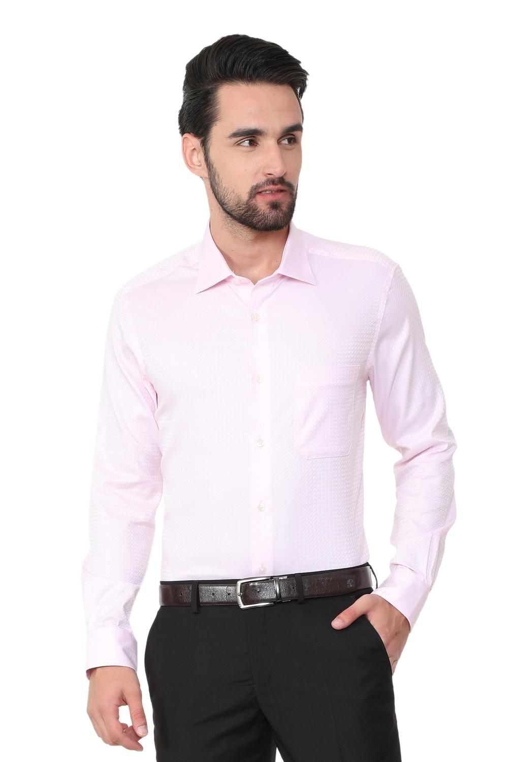 37efd038ee9 Louis Philippe Pink Shirt