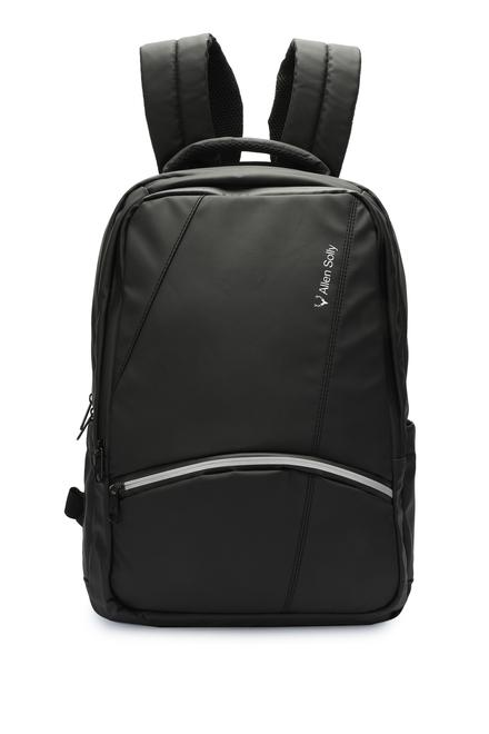 dee5fab2c Allen Solly Accessories, Allen Solly Black Backpack for Men at  Allensolly.com