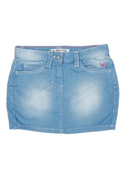 1c6ecc114 Allen Solly Junior Skirts & Skorts, Allen Solly Blue Skirt for Girls at  Allensolly.com