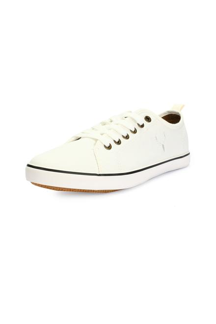 ed853fc6c Allen Solly White Casual Shoes