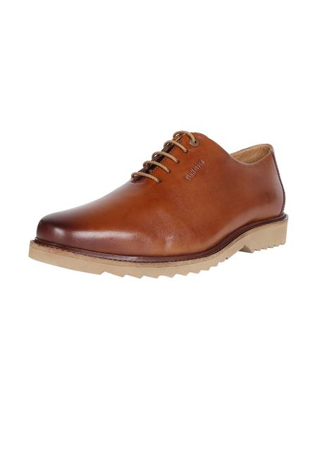 Van Heusen Brown Lace Up Shoes 77035ddbb