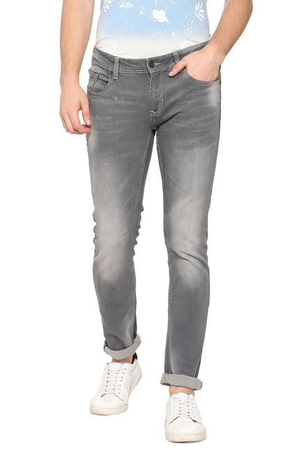 peter england jeans jeans peter england grey jeans for