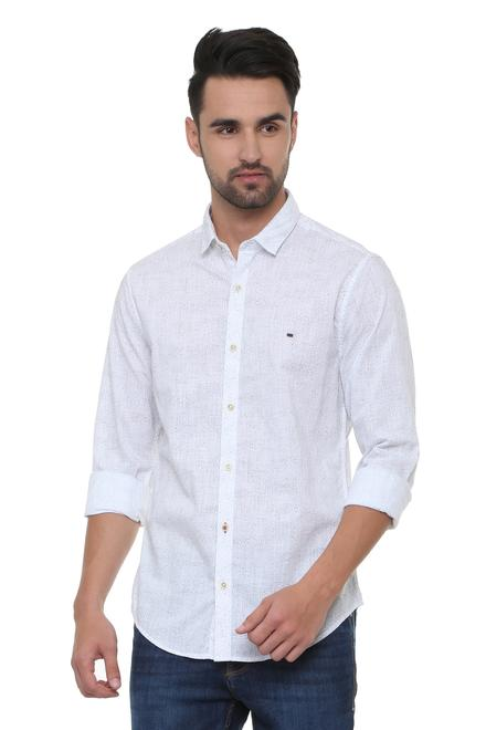 3d90458f1c Peter England Jeans Shirts, Peter England White Shirt for Men at ...
