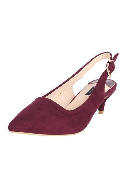 Footwear, Van Heusen Maroon Heels