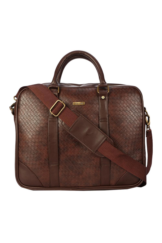 Allen Solly Brown Laptop Bag 683ab9bb2685b