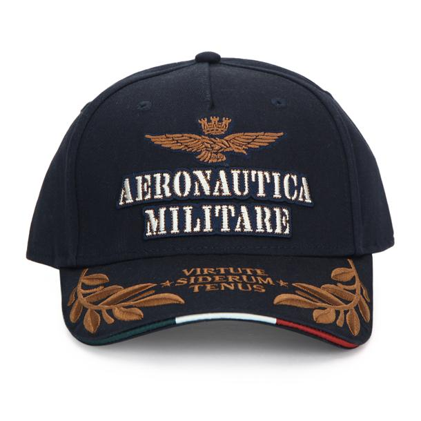 990eb9d1966171 Aeronautica Militare Hats, Gloves, Scarves, Navy Logo Baseball Hat for Men  at Thecollective.in