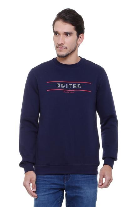 ee2dca2113e Allen Solly Sweatshirts - Buy Men Sweatshirts Online in India ...
