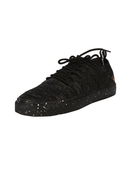 Black Shoes Allen Solly Footwear, Allen Solly Black Casual Shoes for Men at ...