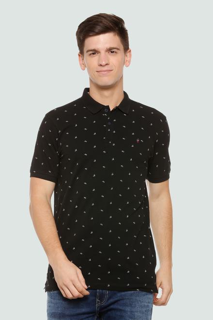 e0d4f67a35 LP Jeans T-Shirts, Louis Philippe Black T Shirt for Men at ...
