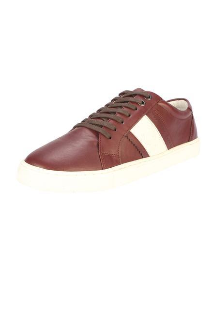 Allen Solly Maroon Casual Shoes