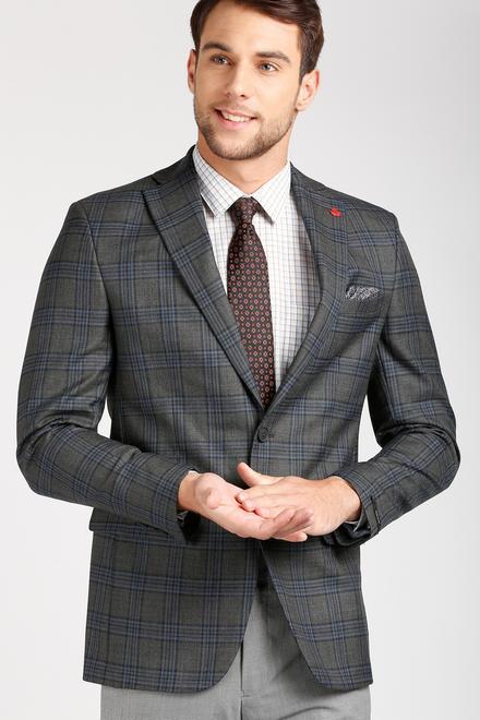 e98c6f2842fcfe Peter England Elite Suits & Blazers, Peter England Grey Blazer for ...
