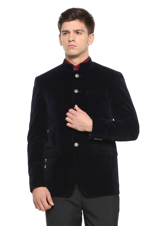 86b635631fa5 Peter England Elite Suits & Blazers, Peter England Navy Blazer for Men at  Peterengland.com