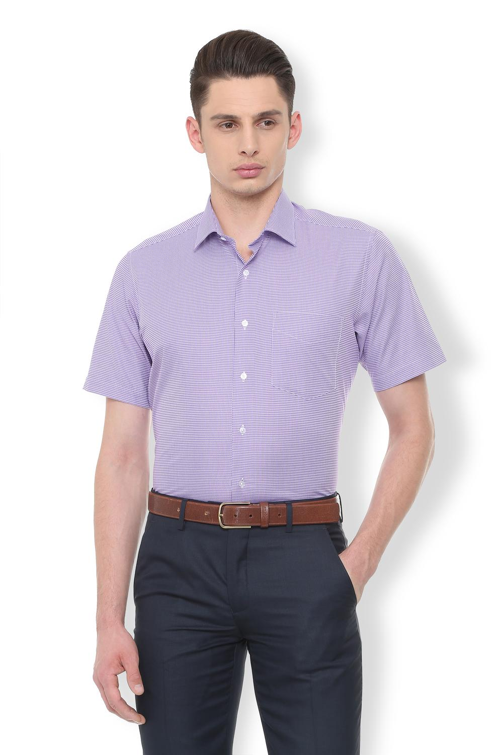 fdfdf73181c Van Heusen Purple Shirt
