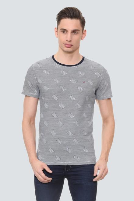 dfeb6b8dd83df Mens Louis Philippe T Shirt - Buy LP T Shirts for Men Online ...