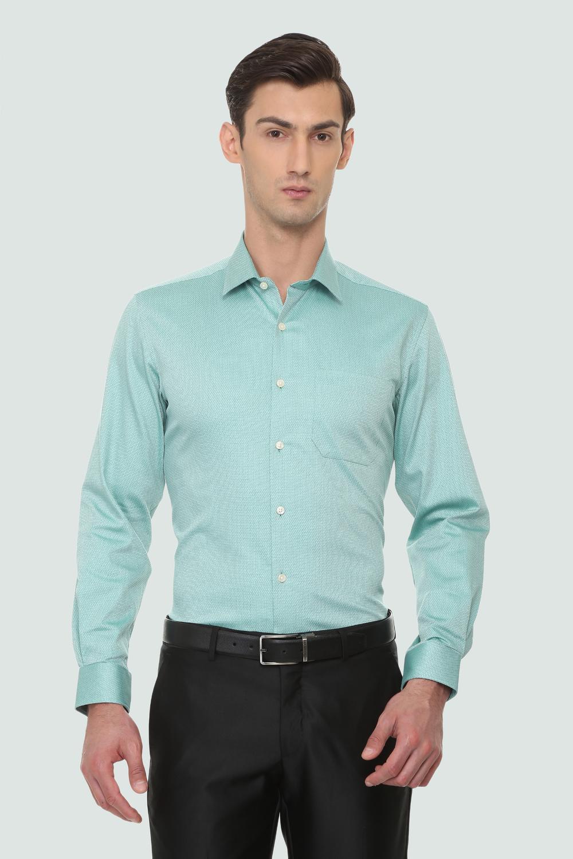 acb404b1202 Louis Philippe Blue Shirt