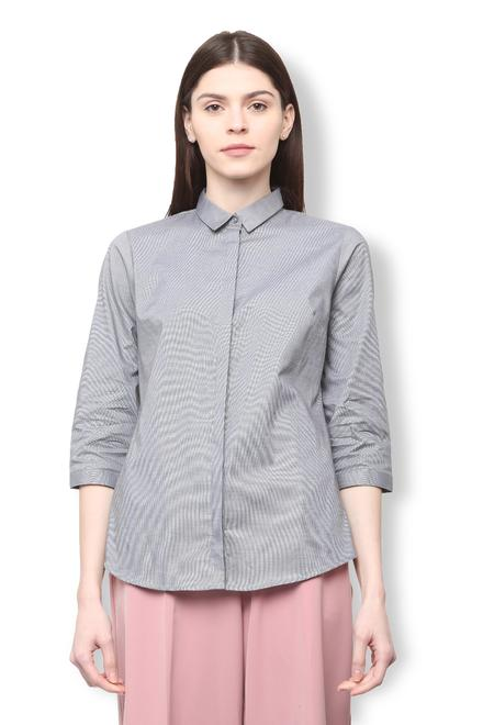 Buy Van Heusen Women Shirts And Blouses Online Vanheusenindia Com