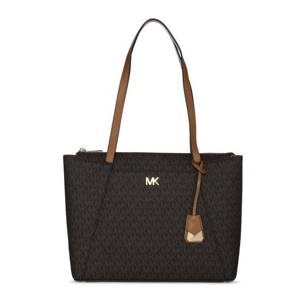 b40f2c2b6971cc Michael Kors Bags, Brown Printed Tote Bag for Women at Thecollective.in