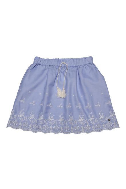 7bd14cea1 Allen Solly Junior Skirts & Skorts, Allen Solly Blue Skirt for Girls at ...