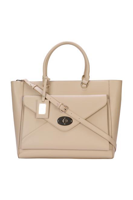 4e9686f138ed Allen Solly Beige Handbag