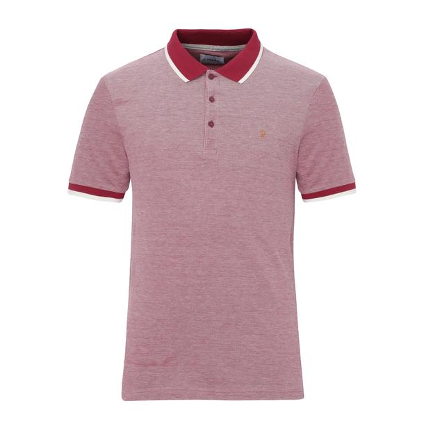 89c62ca3f Farah Polos, Red Logo Polo for Men at Thecollective.in