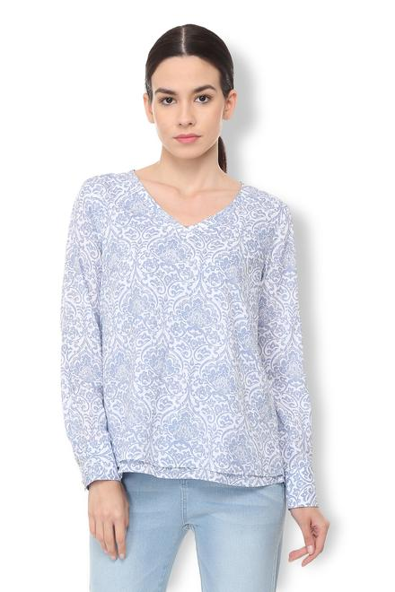 d30b5623cd5041 Buy Van Heusen Tees and Tops for Women - Shop Online ...