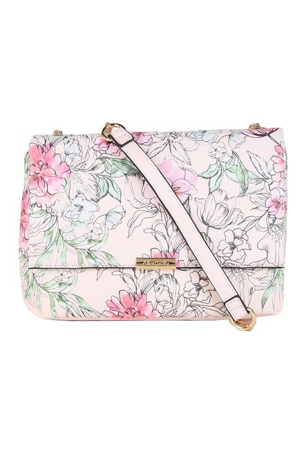76bad1ce69 Solly Fashion Accessories, Allen Solly Pink Sling Bag for Women at  Allensolly.com
