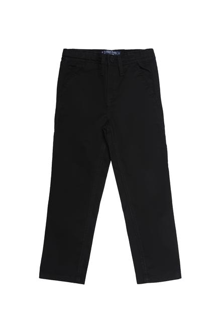 150d8933 Allen Solly Junior Bottoms, Allen Solly Black Trousers for Boys at  Allensolly.com