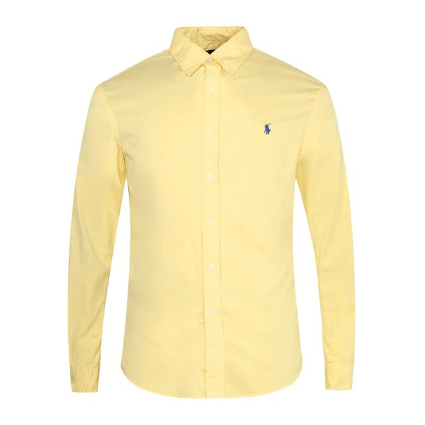 f8a97453 Polo Ralph Lauren Casual Shirts, Yellow Signature Logo Shirt for Men at  Thecollective.in