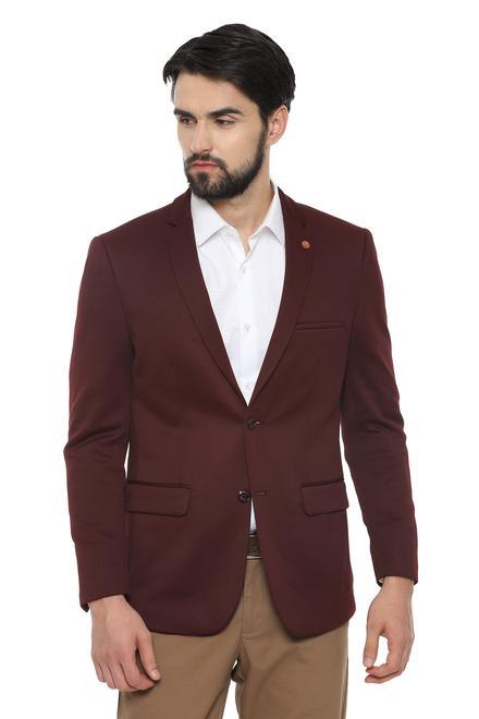 0f2442f91 Allen Solly Suits & Blazers, Allen Solly Maroon Blazer for Men at ...