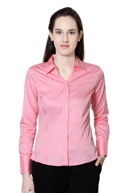 d884d3c3c79 Solly Shirts & Blouses, Allen Solly Pink Shirt for Women at Allensolly.com