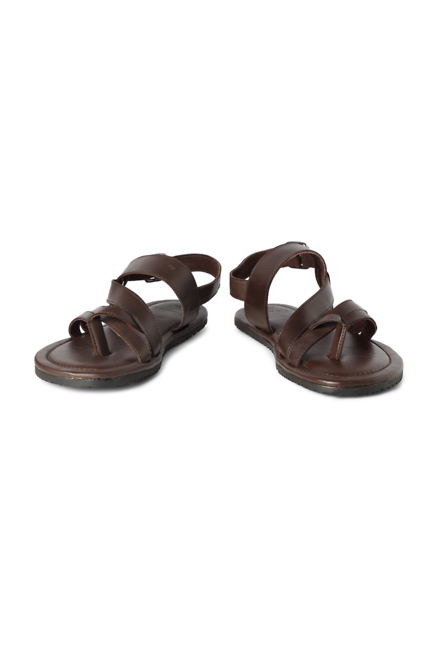 a6ed3ec3a8c5 Van Heusen Footwear, Van Heusen Brown Sandals for Men at ...