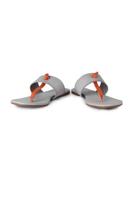 People Grey Flip Flops