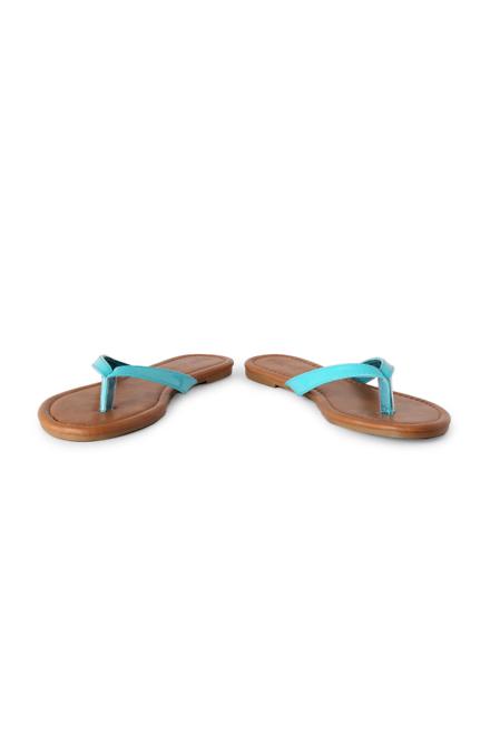 People Blue Flip Flops