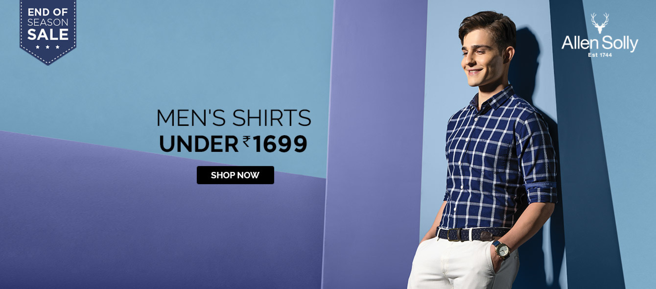 Allen Solly Official Online Store, Buy Allen Solly Clothes and ...